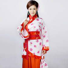 2017 han chinese clothing costume ladies fell in love with dance