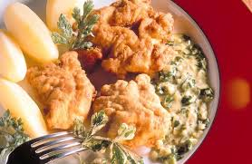 cuisiner cervelle fritots de cervelle à la crème de persil recettes de cuisine