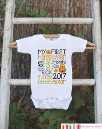 Pumpkin Patch Caledonia Il For Sale by First Halloween Pumpkin My First Halloween Onepiece