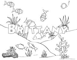 Free Name Coloring Pages First Day Of School