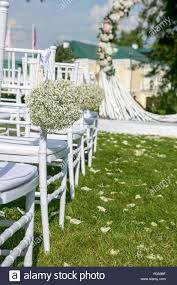 Summer Outdoor Wedding Ceremony Decoration. White Chairs ... 16 Easy Wedding Chair Decoration Ideas Twis Weddings Beautiful Place For Outside Wedding Ceremony In City Park Many White Chairs Decorated With Fresh Flowers On A Green Can Plastic Folding Chairs Look Elegant For My Event Ctc Ivory Us 911 18 Offburlap Sashes Cover Jute Tie Bow Burlap Table Runner Burlap Lace Tableware Pouch Banquet Home Rustic Decorationin Spandex Party Decorations Pink Buy Folding Event And Get Free Shipping Aliexpresscom Linens Inc Lifetime Stretch Fitted Covers Back Do It Yourself Cheap Arch