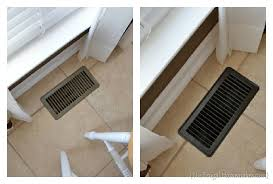 update your vent covers with spray paint