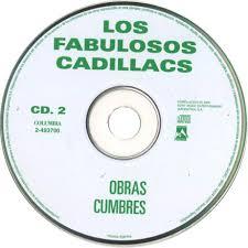 Carátula Cd2 de Los Fabulosos Cadillacs Obras Cumbres Portada