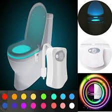 beleuchtung wc toilette led le licht mit sensor