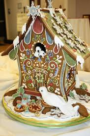 The 1st Place Entry In Gingerbread House Celebration Presented By Christmas Haus Mary Elliott