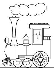 Coloriage De Train À Imprimer Gratuit Vvivante Concernant Image De