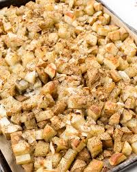 Baked Oil free Home Fries