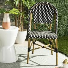 Wayfair Patio Dining Chairs by Outdoor French Bistro Chairs Wayfair