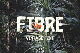 Fibre Vintage Font Rustic Best