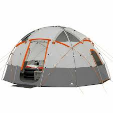 100 Ozark Trail Dome Truck Tent NEW 12Person Basecamp With BuiltIn LED Lights 16x16x78H