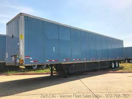 100 Werner Trucks For Sale 2009 Wabash Duraplate Dryvan Trailers The Trucking Site