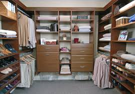 white finish combined walk in closet in a small room l shaped