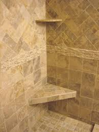how to install shower tile wall rectangular white porcelain alcove