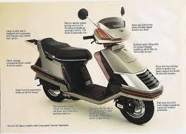 Vintage Honda Scooters