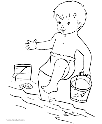 These Free Printable Beach Coloring Book Pages And Sheets Of Pictures Are Fun For Kids