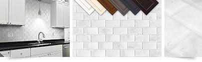 subway tile marble bevel edge polished