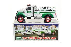 100 Hess Truck History Debuts Toy AndCar Combo The Toy Book