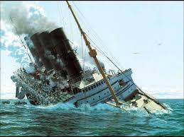 titanic lusitania and britannic sinking youtube
