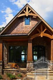 Cabin Style Homes Colors Wood Siding And Stacked Stone And Cedar Shake Craftsman Houses