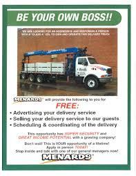 100 Menards Truck MENARDS Delivery Service OwnerOperator Boom Bismarck ND