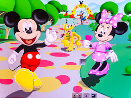 Mickey Mouse Clubhouse Bedroom Set by This Mickey Mouse Clubhouse Mural Was Painted By Hand Directly On