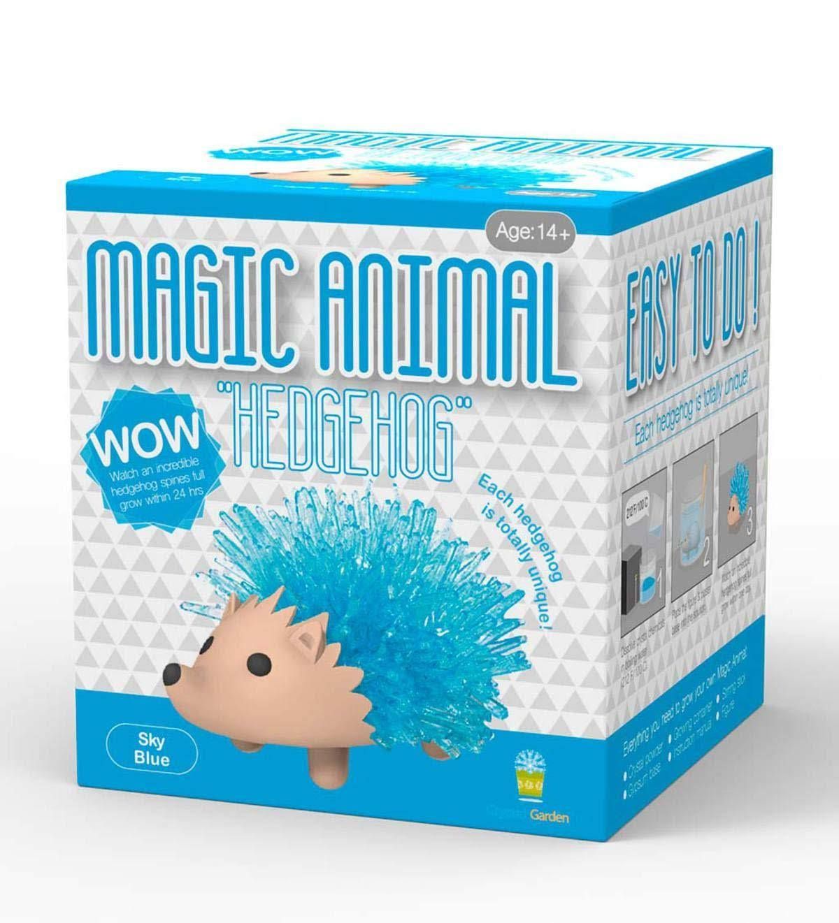 Magic Animal: Hedgehog (Grow Crystal Garden) Assorted Colors, Size: One Size
