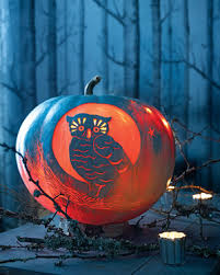 Drilled Jack O Lantern Patterns by Pumpkin Carving And Decorating Ideas Martha Stewart