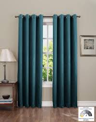 Pottery Barn Curtains Grommet by Amazon Com Sun Zero Leighton Crushed Energy Efficient Curtain