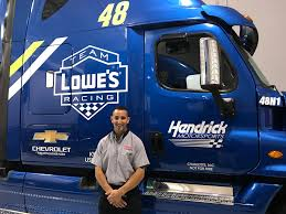 100 Duel Truck Driver Fast Five Get To Know The No 48 Team Hauler Driver Hendrick