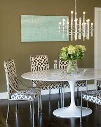 Los Angeles Jonathan Adler Chairs Dining Room Contemporary With Oval