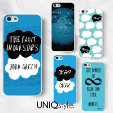 The fault in our stars phone case for iPhone 7 6 6s Samsung S8 S7