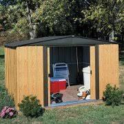 Rubbermaid Horizontal Storage Shed 32 Cu Ft by Rubbermaid Large Horizontal Storage Shed Walmart Com