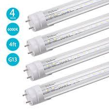 t8 led light dual end powered 4ft led bulbs 18w 2000lm