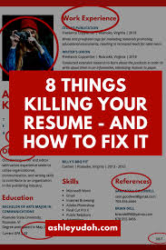 8 Things Killing Your Resume And Easy Ways To Fix Them ... Can I Pay Someone To Make My Resume Salumguilherme Best Sales Cover Letters Inspirational Letter Fix Productservice 7 Reviews 1 Photo Facebook For Free Line You Guys Gave Me Some Feedback And Told Fix My Resume 240 Words Action Verbs Power Adjectives Awesome Fishing Birthday Ecards Sample 26 Doctors Note Examples Working 8 Things Killing Your Resume And How To Fix Them Ashley Udoh Car Salesman New 10 Review Sites In 2019 List