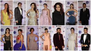 Bollywood Filmfare 2015 Collage