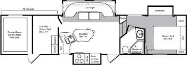 Raptor 5th Wheel Toy Hauler Floor Plans by 2009 Keystone Raptor 3812 Fifth Wheel Prescott Valley Az Little