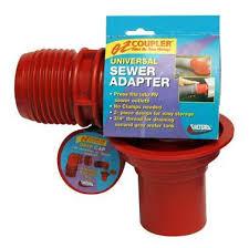 EZ Coupler Adapter For RV Sewer Hose 90 Degree