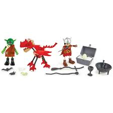 Amazoncom Hape Viking Castle Playset Ride The Dragon Dollhouse