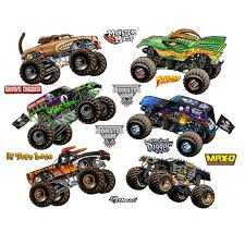 100 Monster Truck Pictures Jam Cartoon S Collection XLarge Officially Licensed