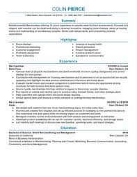 Best Merchandiser Retail Representative Part Time Resume Example