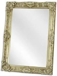 casa padrino barock spiegel silber 79 x h 109 cm