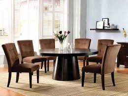 Round Dining Table 8 Chairs Rustic Oak And