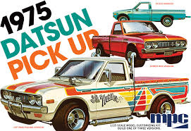 MPC 1/25 1975 Datsun Pickup Model Kit | 872 - Up Scale Hobbies Resin Model Kits Yarmouth Works Aussie K200 Truck Kit 124 An Trucks Koda 706 Rts 1 Model Kits 143 Scale Mac 125 Trucks And Three Scratch Built Trailers On The Amazoncom Planet Models 172 German Bussing 4500a Truck Kit Mack E7 Etech Engine Nissan Dakar Rally Auto Magazine For Building Model Trucks Mercedes Benz Actros Mp3 Resin Cversion Kit Fireball Modelworks Builder Com Molinum Parts