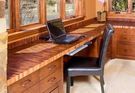 Reclaimed Wood Desk Top Office Furniture Modern Custom Modern Wood Desk Tops Pertaining To The Best Materials Of Homesfeed