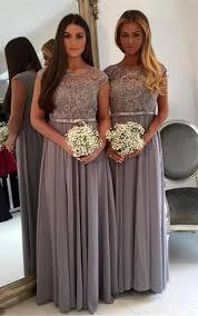 Cap Sleeve Bridesmaid Dresses Floor Length by Modest Long Sleeve Bridesmaids Dresses High Neck Bridesmaid
