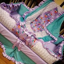 little mermaid crib set