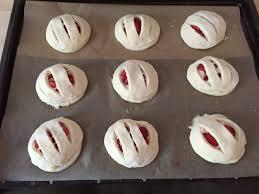 erdbeer pudding quark teilchen das muffin mädchen