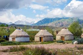 100 Nomad House Yurt Or Ger A Round Shaped Traditional Nomad House Kyrgyzstan
