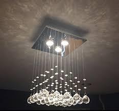 mossi chandelier modern k9 raindrop chandelier