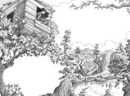 Magic Tree House Coloring Page Free Download Within Incredible Along With Stunning Jack And Annie